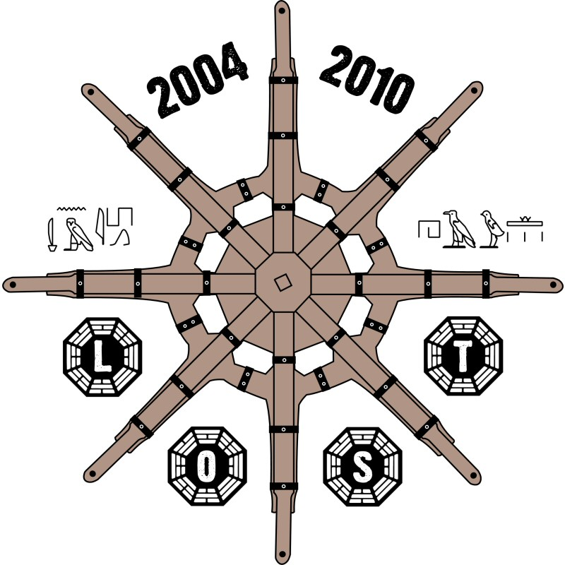 LOST Donkey Wheel anniversary tshirt design