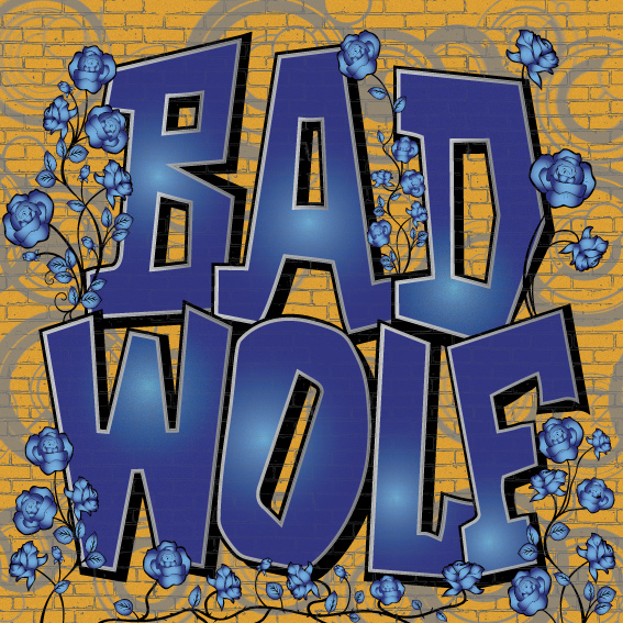 Bad Wolf Graffiti